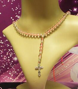 Halskette-Rosenkranz-Kreuzkette-Kugel-8-mm-Kreuz-KW-MAR-2002-06