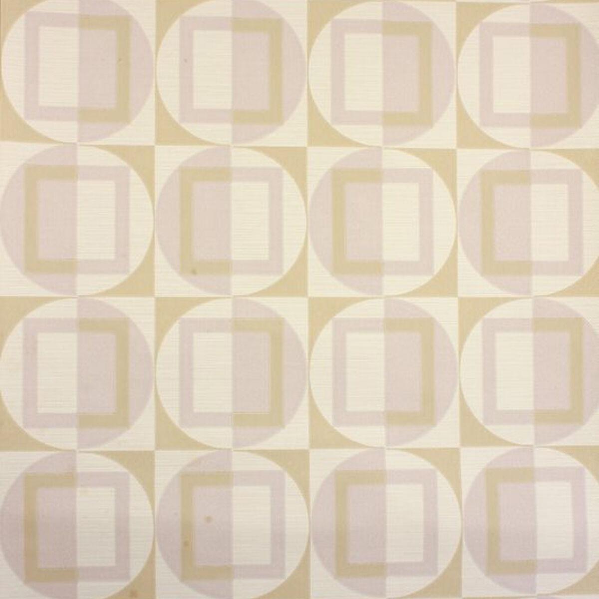 1970s MOD GEOMETRIC Vintage Original 60s 70s Retro Modern Wallpaper