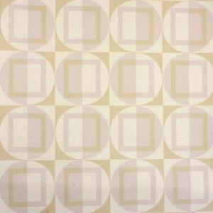 GREY MINIMALIST VINTAGE WALLPAPER Light Emboss Geometric 1960s 70s Original