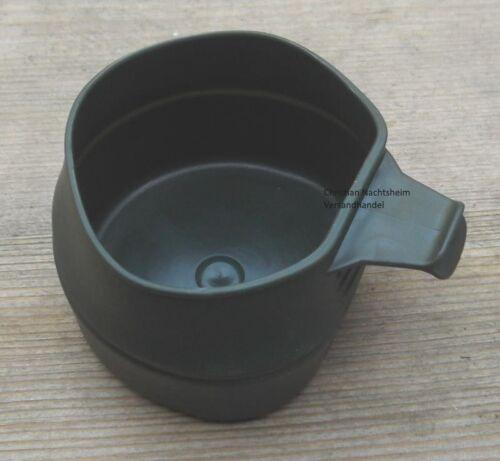 Faltbecher Fold-a-Cup oliv 200ml Falttasse Rasierbecher Reisebecher Biwak