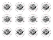 Masonic Tool Symbol Sign Lodge Mason Rubber Stamp Seal Crest Lodge Letter Card X