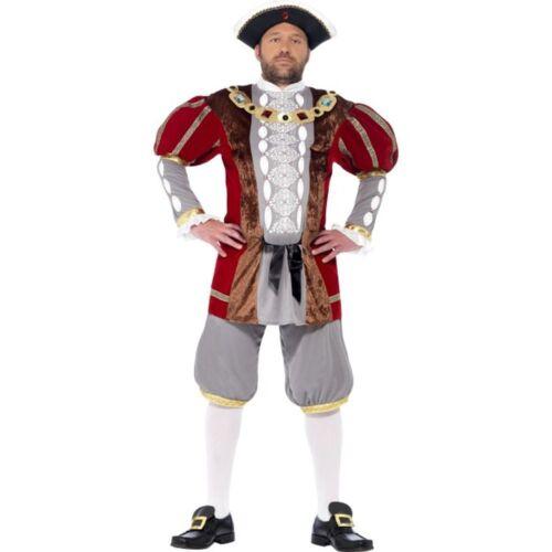 Smi Herren Kostüm Renaissance Lord König Karneval Fasching