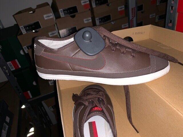 NIKE Flash Braun braun Deuce Capri Gr 37,5 Sommer Turnschuhe flyclave leather