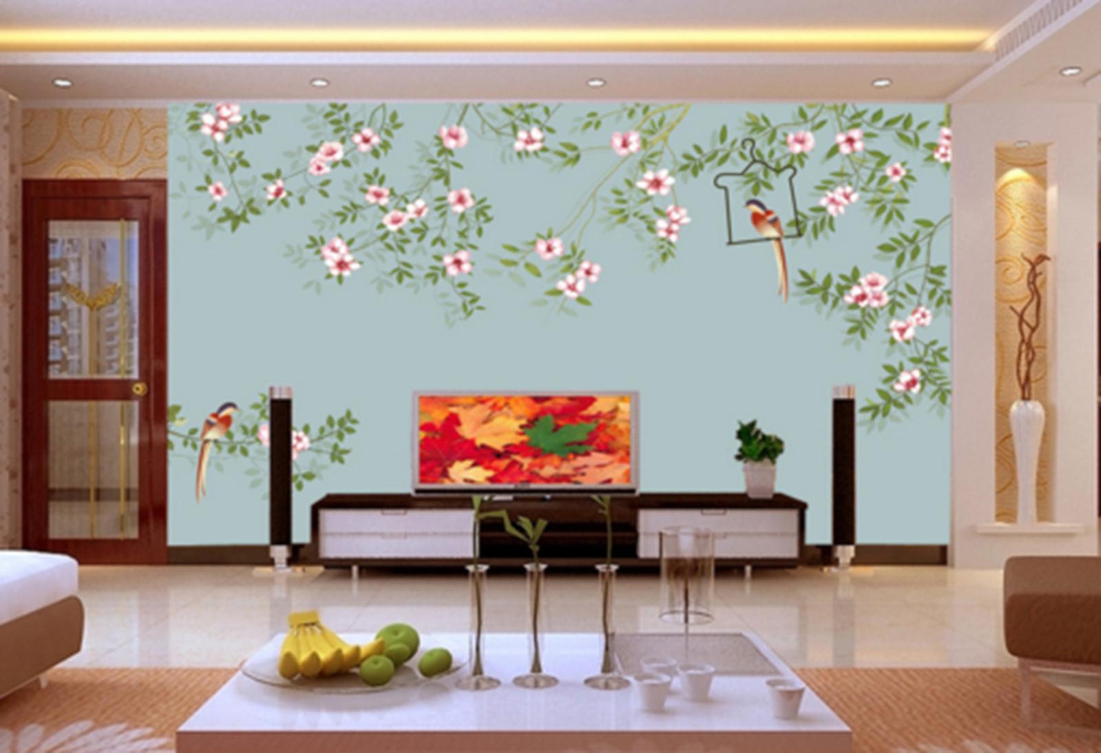 3D Vines Paint 459 Wallpaper Murals Wall Print Wallpaper Mural AJ WALL AU Kyra