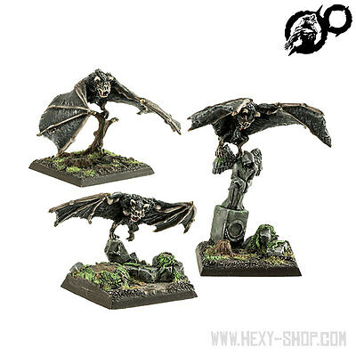 Living Death Vampire Bats (3) - Werewoolf Miniatures
