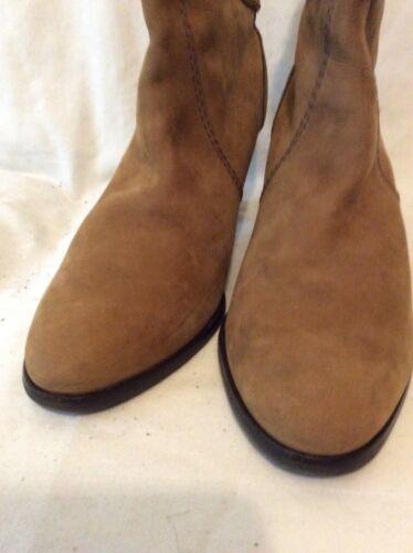 marrón talla Botas cuero tobillo de 7 Clarks tqqgwRAp