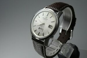 Vintage-1963-JAPAN-SEIKO-MATIC-WEEKDATER-J13080-33Jewels-Automatic