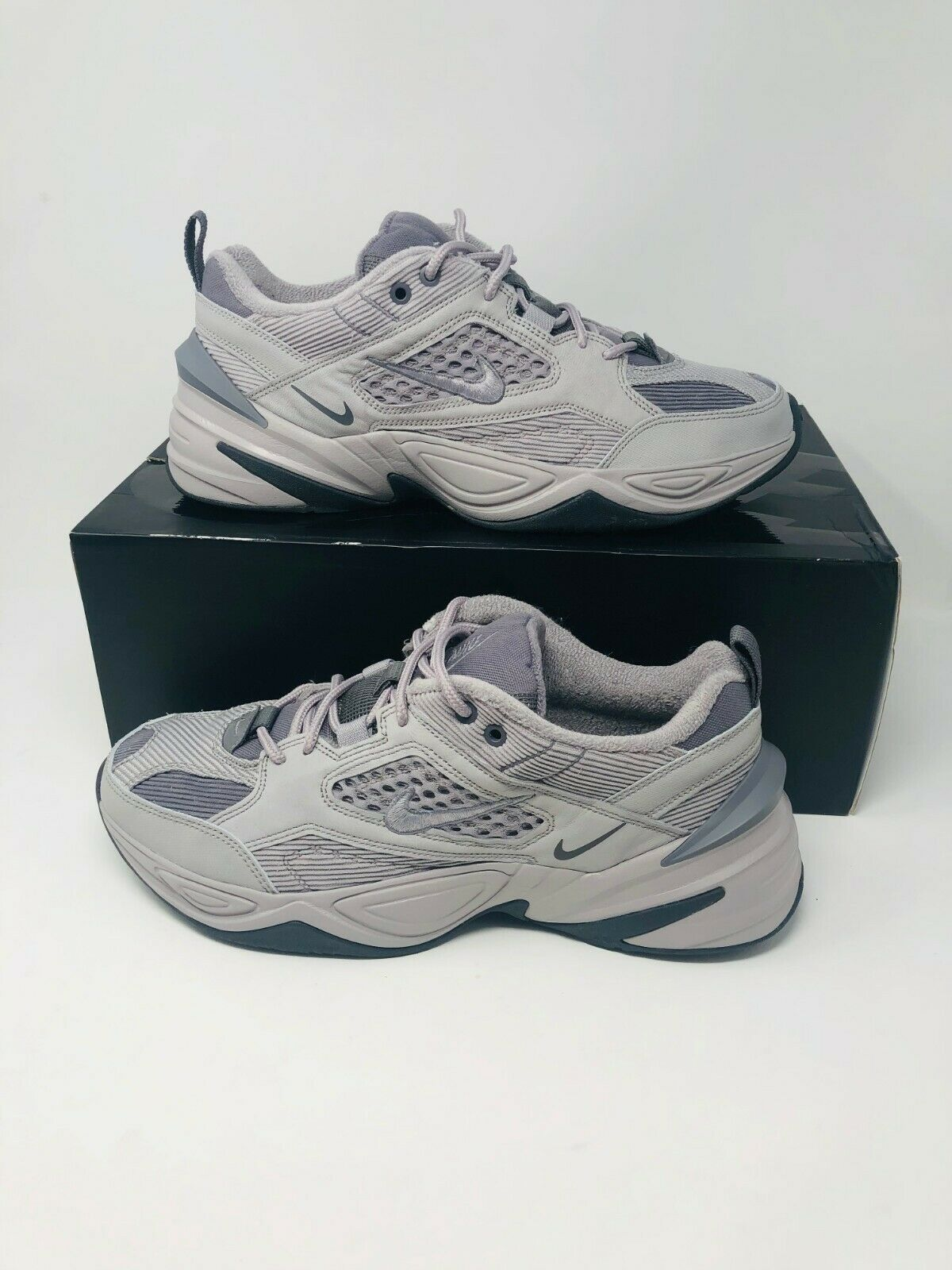 c5190e3cd1405d Nike M2K Tekno SP Atmosphere Grey Gunsmoke Men BV0074-001 Size 12 FREE  SHIPPING