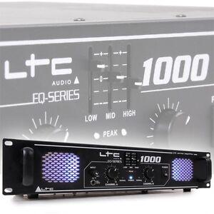 1000 watt dj pa party verst rker endstufe amplifier. Black Bedroom Furniture Sets. Home Design Ideas