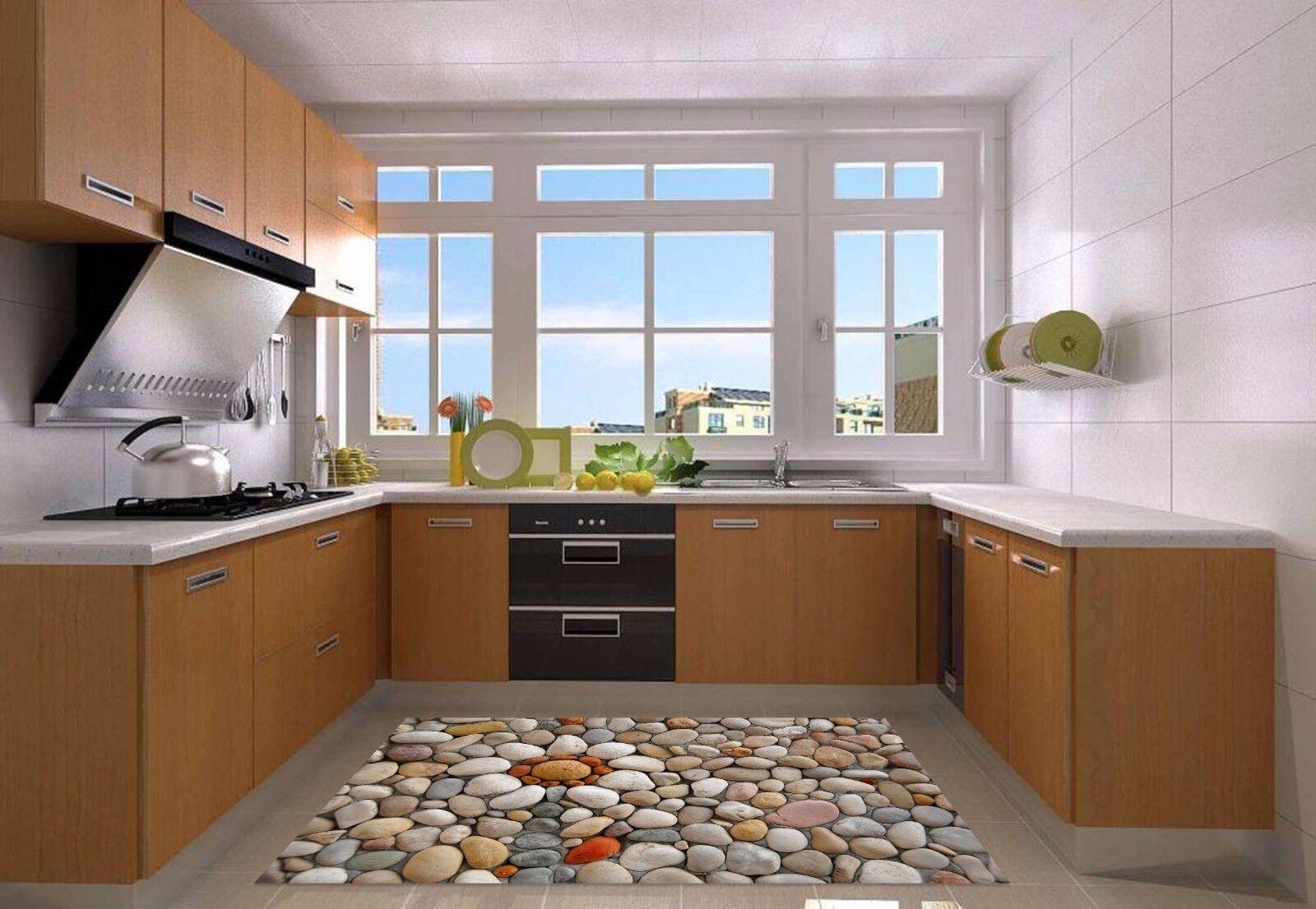 Stampe Da Cucina : 3d pietra bianca 82 tappetino da cucina pavimento murales stampa