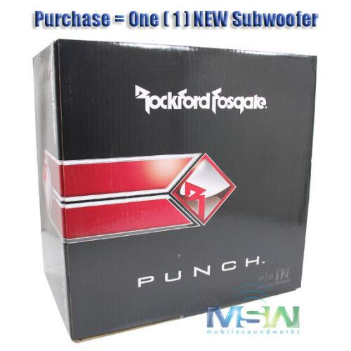"""ROCKFORD FOSGATE® P3D4-12 PUNCH-SERIES 12/"""" 1200W DVC 4-OHM SUBWOOFER SUB P3D412"""