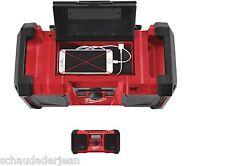 18V inkl 4933451251 2 AAA Batterien Milwaukee Akku-//Netz-Radio M18 JSR DAB