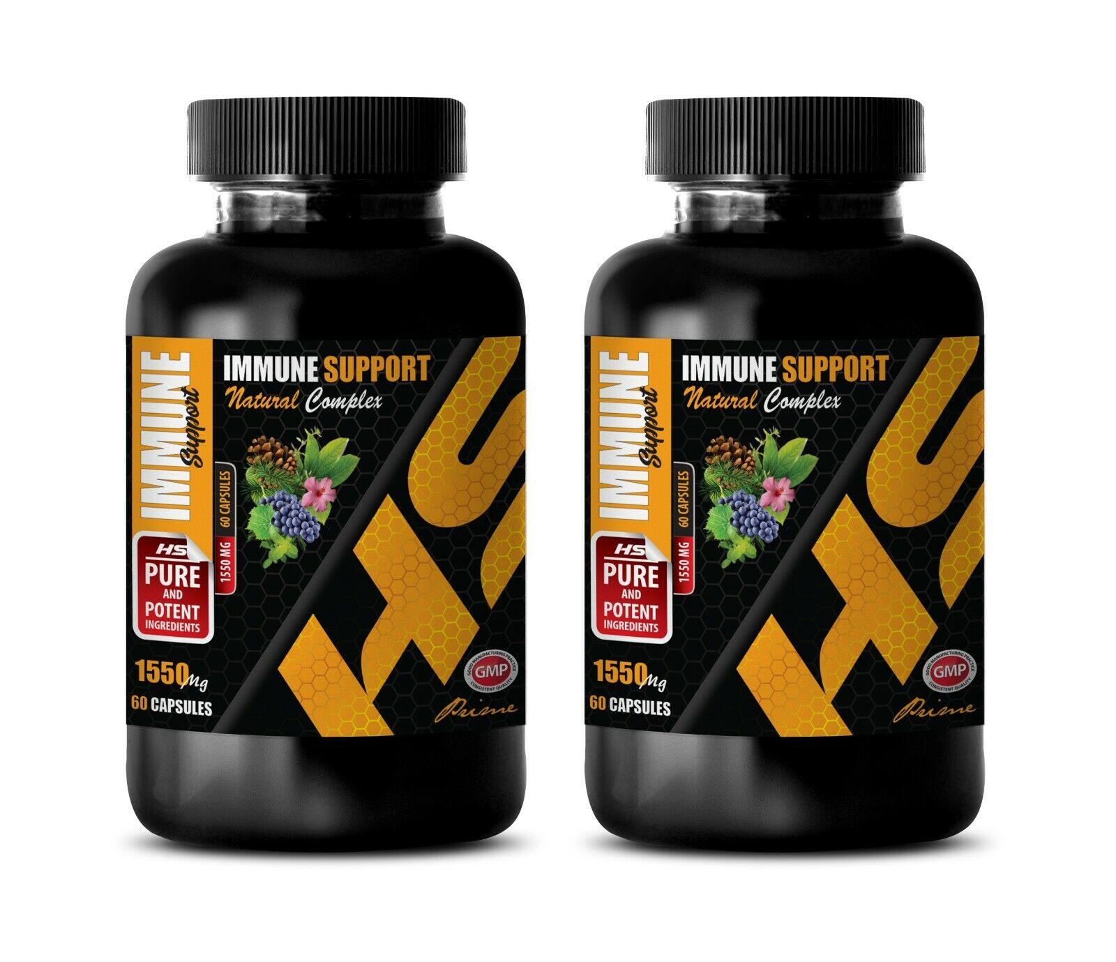 immune support for health - IMMUNE SUPPORT - blood pressure herbs 2 BOTTLE 1