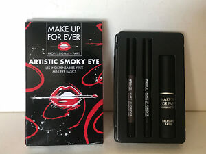 NEW-MAKE-UP-FOR-EVER-MASCARA-amp-PENCIL-ARTISTIC-SMOKY-EYE-KIT-SET-37-SALE