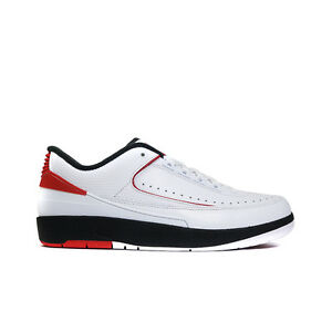 0497ea8c519af 832819-101 Nike Air Jordan Retro 2 ii OG (White Varsity Red Black ...