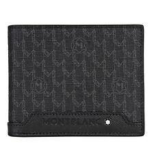 Montblanc Signature Black Nylon 8CC Wallet