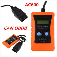 Universal LCD AC600 OBD2 CAN BUS Car Fault Scanner Code Reader Diagnostic Tool