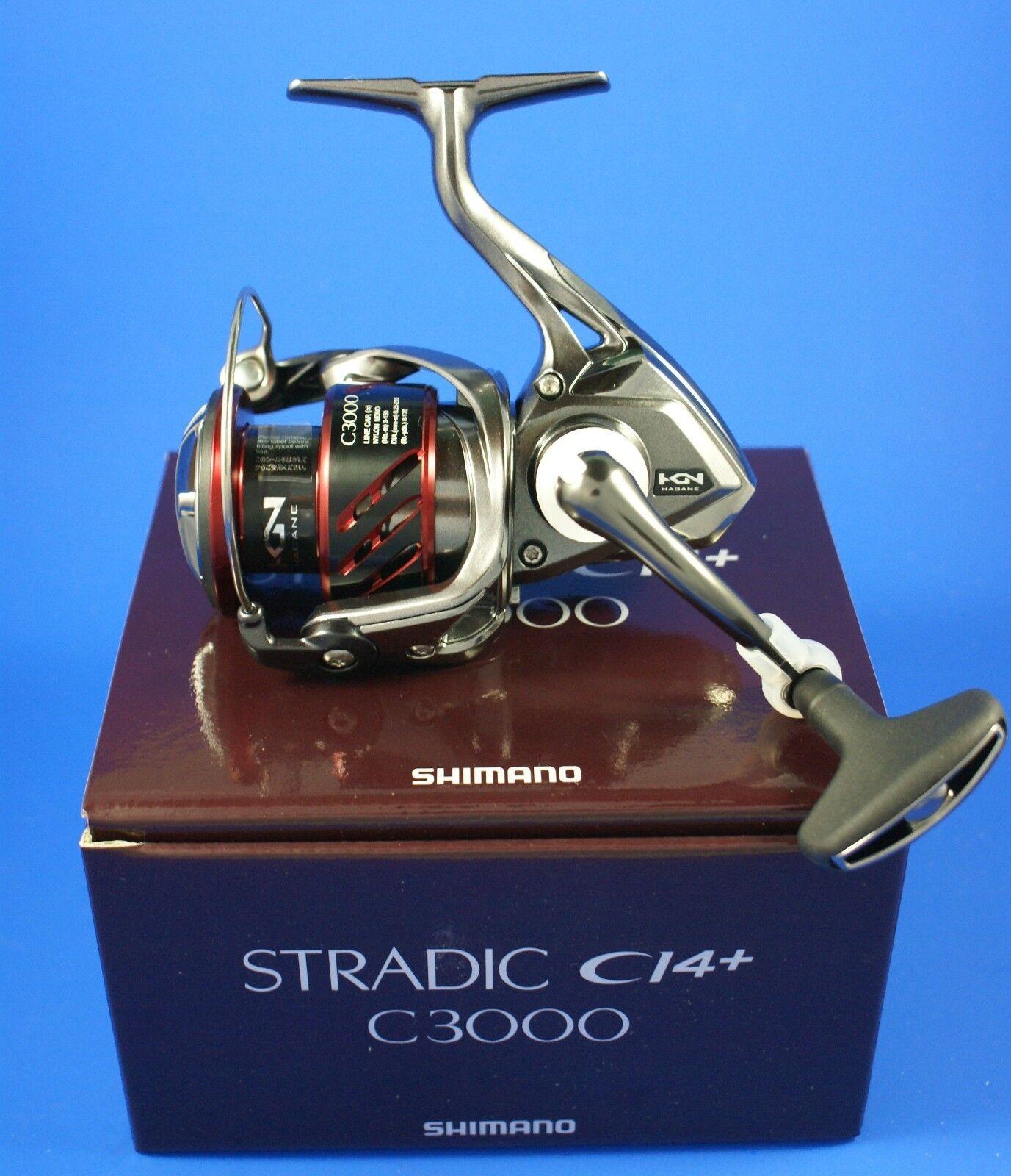 Shimano Stradic Ci4+ C3000 FB // STCI4C3000FB // Front Drag Fishing Reel