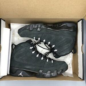 Details about Nike Air Jordan Retro IX Anthracite Black 302370 013 SZ 9.5 Chicago I IV V III