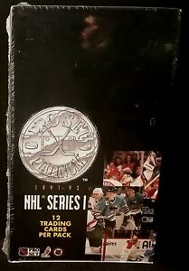 1991-92-PRO-SET-PLATINUM-SERIES-1-NHL-HOCKEY-WAX-BOX-36-PACKS-FACTORY-SELAED