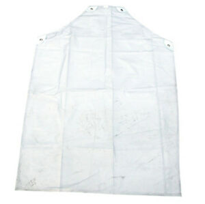 """Click Disposable Clear Pvc Apron 48""""X36"""" (Pack Of 10) - Cpa48-10"""