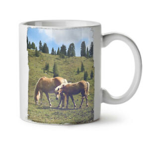 Wild Animal Horse NEW White Tea Coffee Mug 11 oz | Wellcoda