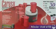 Caruso Molecular Ionic Steam Hair Setter 30 Hair Rollers C97953 V2 120-240 Volts