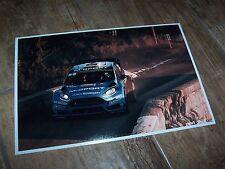 Photo  /  Photograph  Mads Ostberg FORD Fiesta Rallye Monte Carlo 2016 //