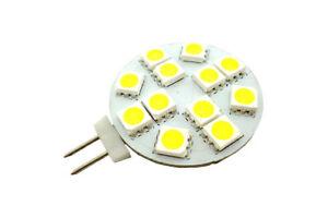Lampadine Led Attacco G4.Dettagli Su Lampada Lampadina Led 12 Smd 5050 Attacco G4 A Spillo Luce Calda Fredda 067