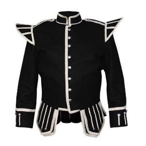 Sonstige Europäische Kleidung Gewidmet 100%blazer Wolle Neu Militär Piper Schlagzeuger Wams Tunika Röhrenartig Band Kleidung & Accessoires