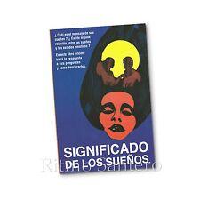 SIGNIFICADO DE LOS SUEÑOS Libro Diccionario de Sueno Analisis Guia Paranormal
