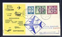 54148) LH FF Düsseldorf - Bangkok Thailand 1.4.63, SoU ab Berlin