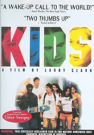 Kids DVD Larry Clark Chloe Sevigny Rosario Dawson Harmony Korine Cult Movie - $13.95