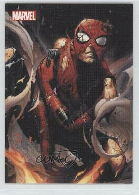 2013 Rittenhouse Archives Marvel Greatest Battles Spider-Man Promo Card