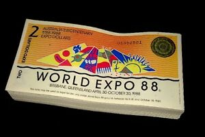 1x-Banknotes-Australian-Brisbane-World-Expo-1988-2-Dollar-Uncirculated