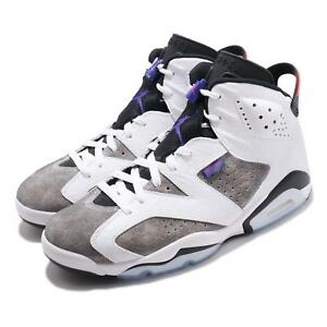 bd3775c8f89 Nike Air Jordan 6 Retro VI AJ6 Flint White Infrared 23 Men Shoes ...