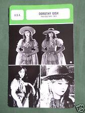 DOROTHY GISH - MOVIE STAR - FILM TRADE CARD - FRENCH -#2