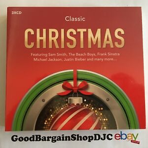 Classic-Christmas-3CD-2015-New-amp-Sealed