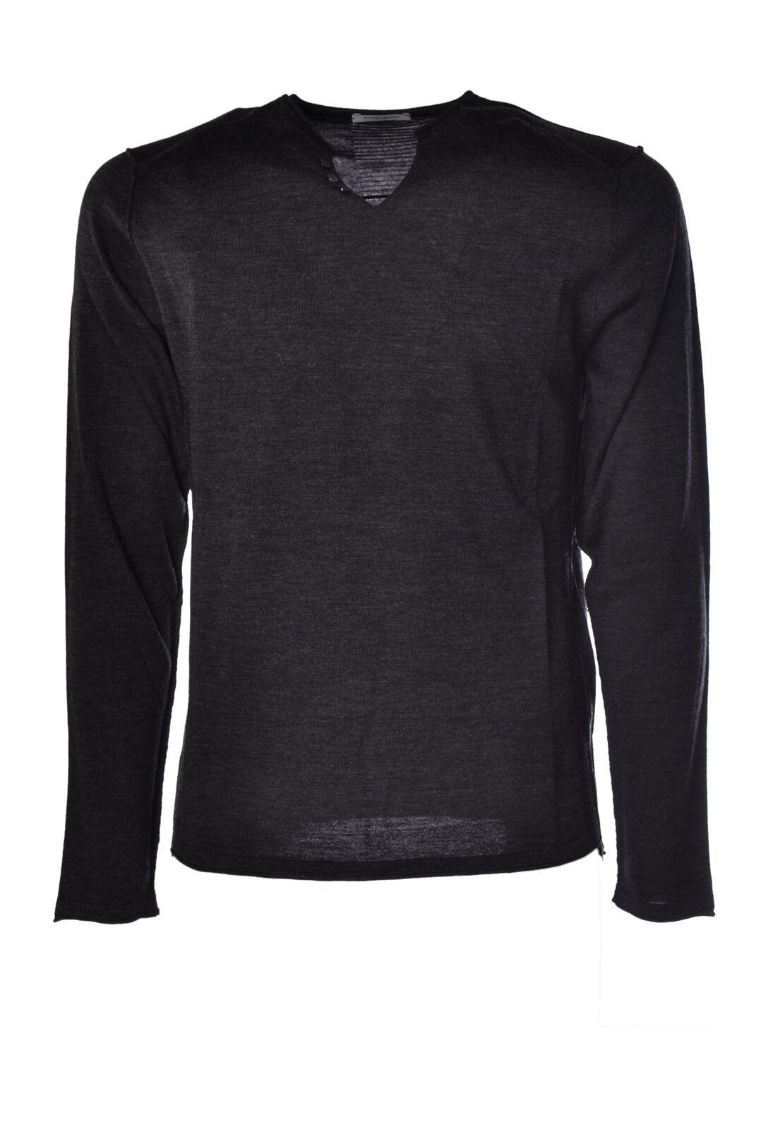 Paolo Pecora - Knitwear-Sweaters - Man - grau - 1009329F190602