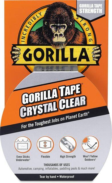 Gorilla Glue Brand Gorilla Tape Crystal Clear Tape 9 yards