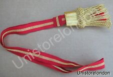 Sword Knot French Napoleonic Guard NCO Red 5mm Gold B12 R628