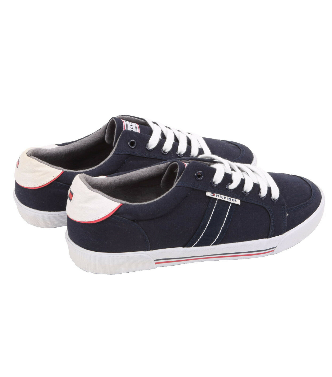 Tommy Hilfiger AM DEMPSY-A Sneaker Navy Blue Multi Fabric Sneaker DEMPSY-A Shoes - $0 Free Ship 1a01c3
