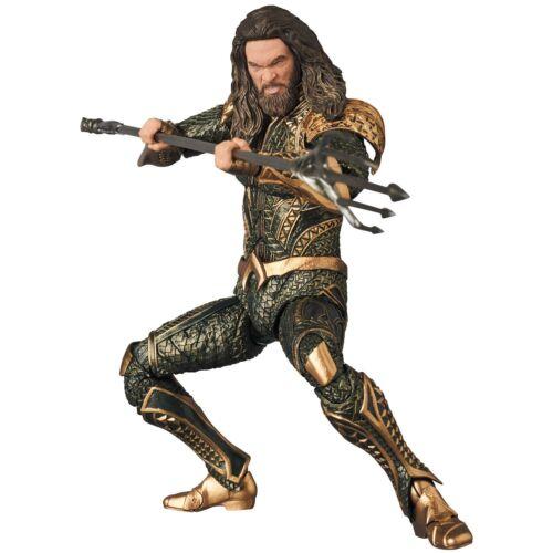 Medicom Justice League Aquaman Mafex Action Figure Authentic