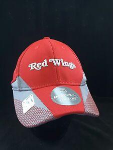 best loved f051f 3e607 Image is loading Detroit-Red-Wings-Reebok-FlexFit-Hat-Cap-Center-