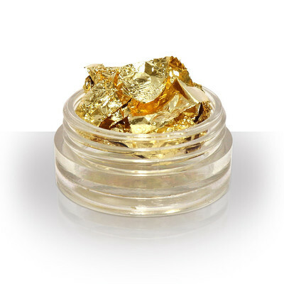 Gold Leaf Foil for Nail Art Craft Scrapbook Acrylic Gel