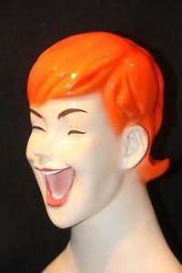 Weibliche Schaufensterpuppe Kopf Büste für Perücken Hut und Schmuck