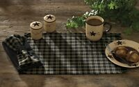 Sturbridge Kitchen Black Table Runner
