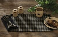 Sturbridge Kitchen Black Table Runner Home Furnishings