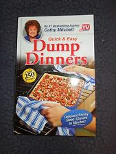 Quick & Easy Dump Dinners by Cathy Mitchell As Seen On TV Recipe Book Cookbook