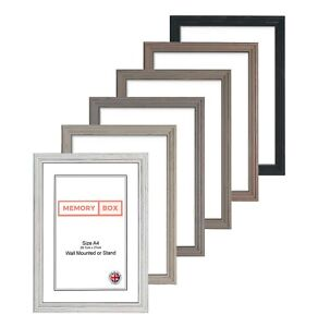 High Quality Wood Frame Penrose Range Photo Picture Frame A3 A4 /& All sizes Grey